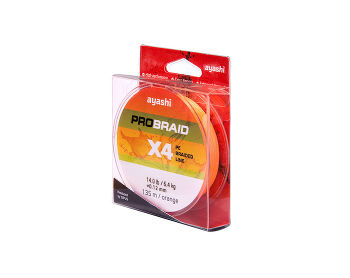 Ayashi PRO BRAID-X4 (orange) d-0,18mm (135м)