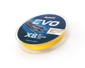 Ayashi EVO-X8 (yellow) d-0,202mm (150 м)