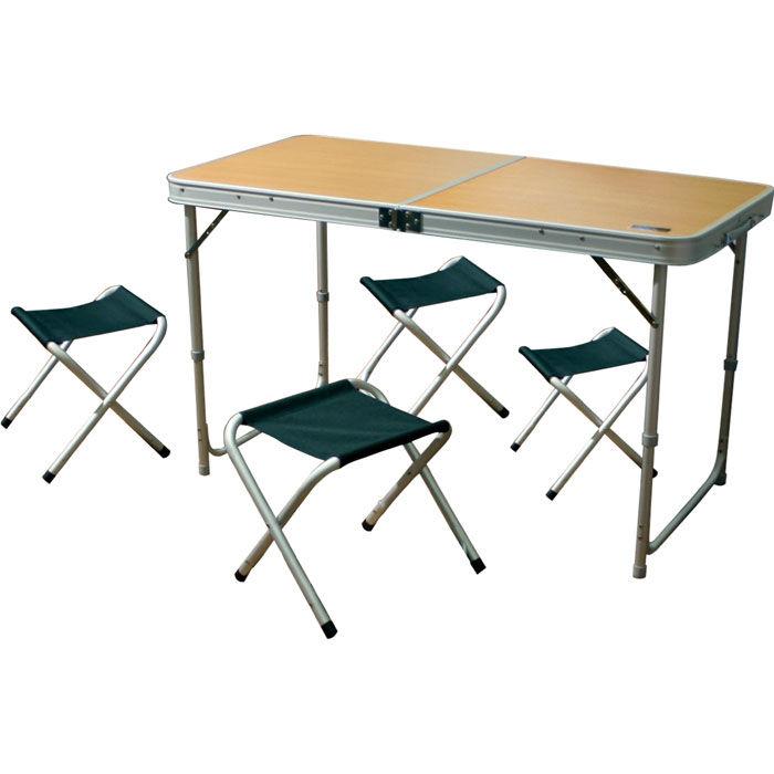 Складные стулья и столы для пикника